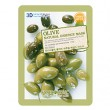 FoodaHolic Olive Natural Essence 3D Mask