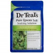 Dr Teal's Pure Epsom Salt Soaking Solution Relax & Relief with Eucalyptus & Spearmint,1.36kg